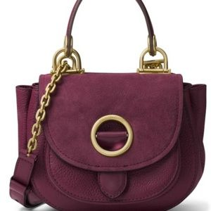 ✨ Isadore Medium Messenger Crossbody Plum